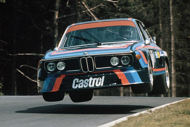 BMW E9 CSL pist yarışlarında bir dönem yenilmezdi.