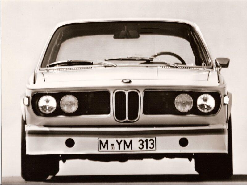 BMW E9 basın fotoğrafı