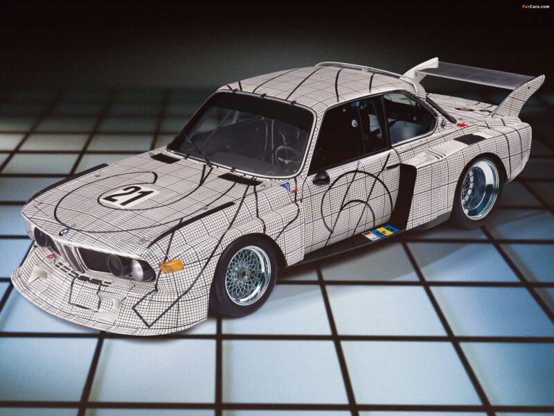BMW E9 Art Car