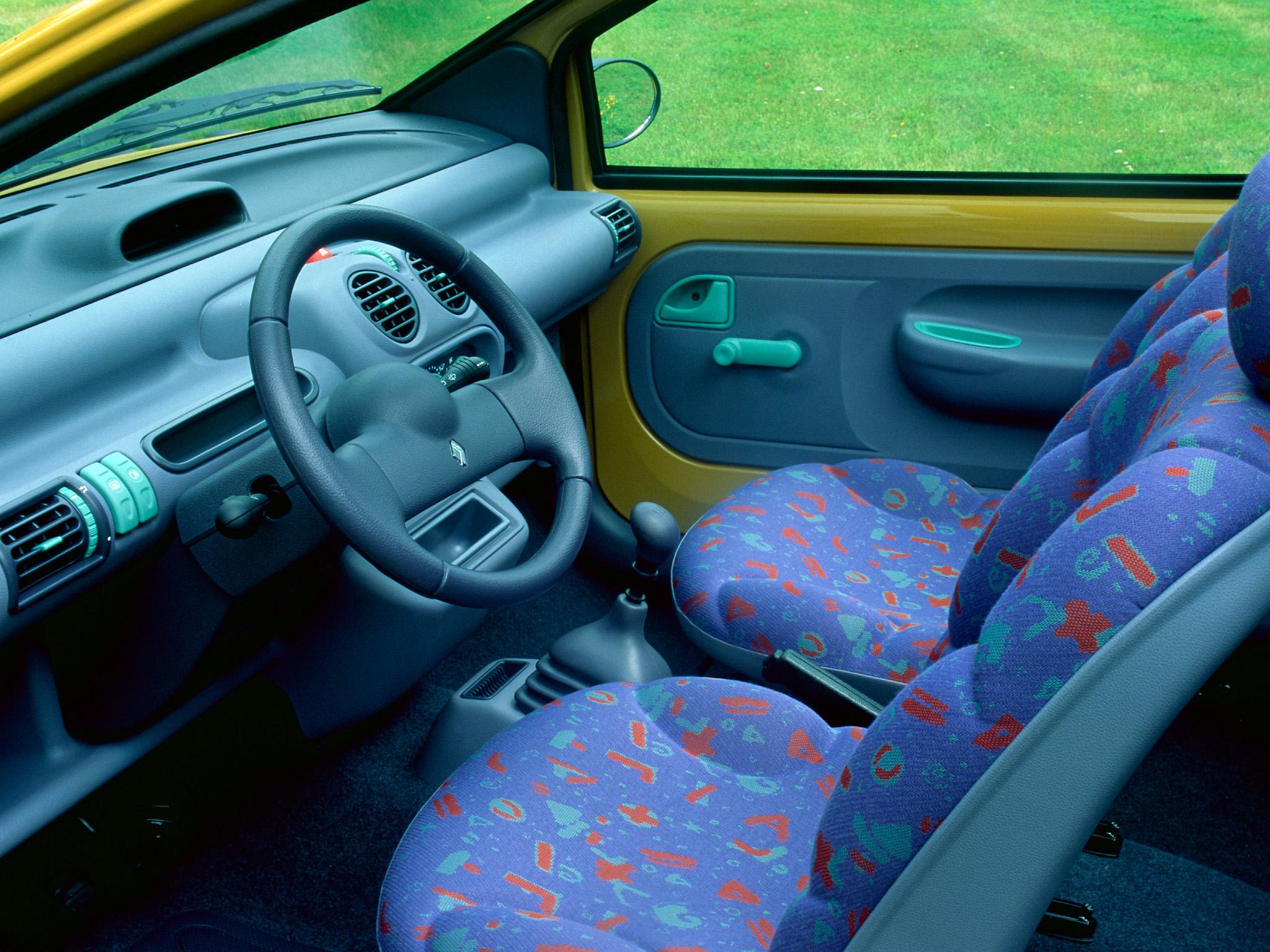 Renault Twingo iç görünüm